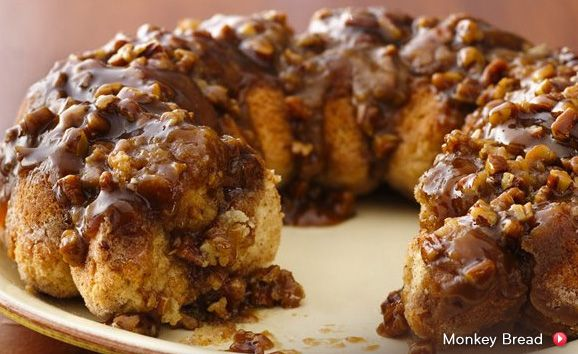 Monkey Monkey bread. this looks beyond delicious!