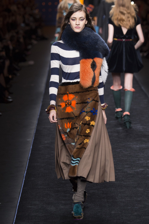 Fendi Fall 2016 Ready-to-Wear Fashion Show - Greta Varlese