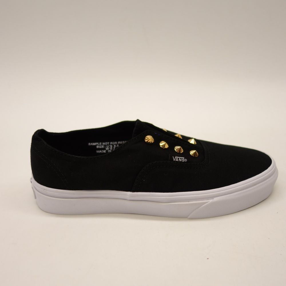 gold studded vans chaussures