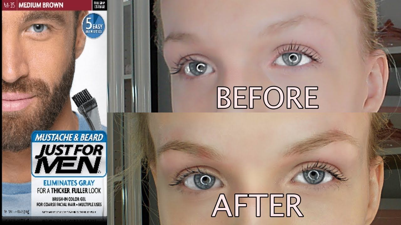 Dyeing My Brows W Just For Men Eyebrow Tinting How To Grow Eyebrows Eyebrow Shaping