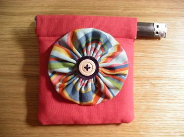 how to make a coin purse out of fabric