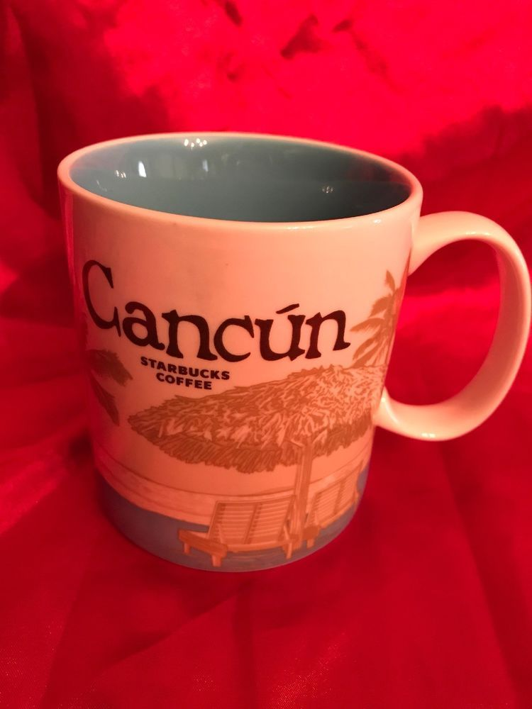 Starbucks Global Coffee Cancun Icon Mug MexicoEbay L5ARjq3c4