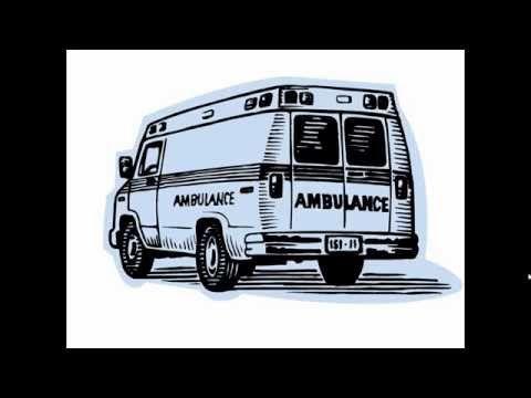 رسم سيارة اسعاف Draw Ambulance Van