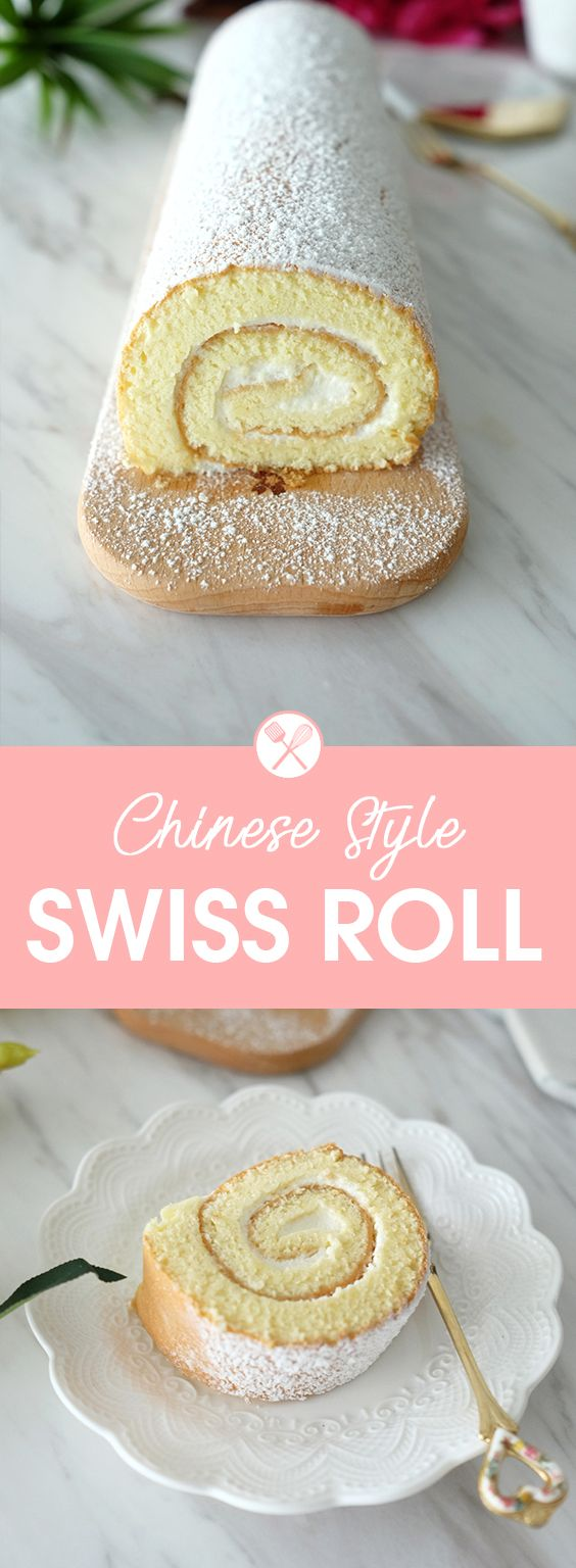 Photo of Chinese-Style Swiss Roll   Bear Naked Food