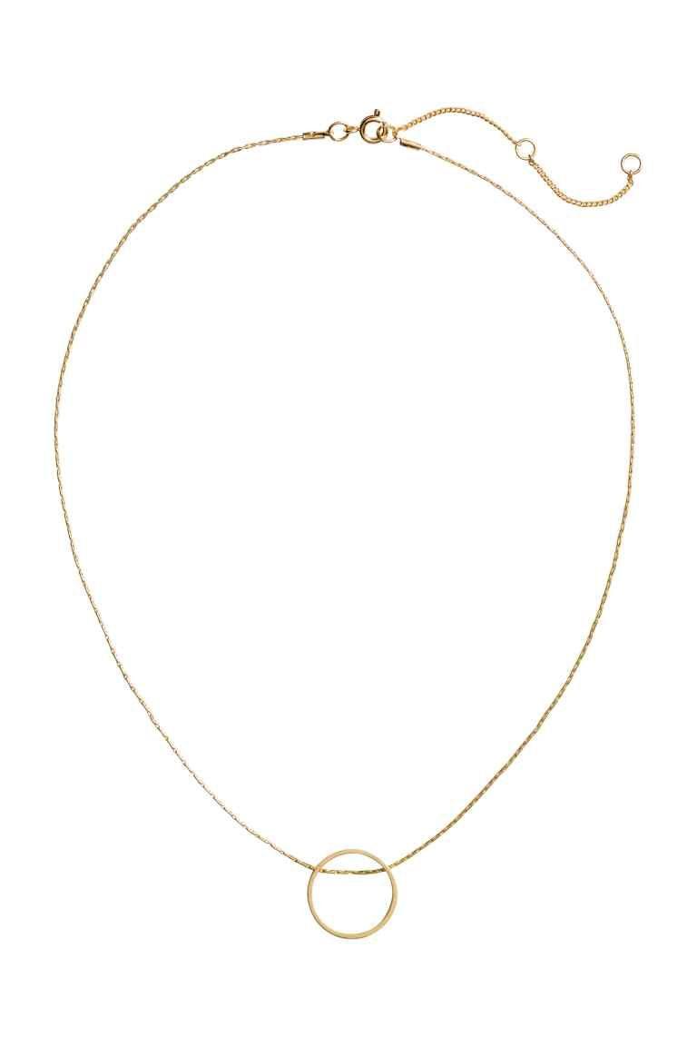 Necklace with a pendant - Gold - Ladies | H&M 1 | Shopacholics ...