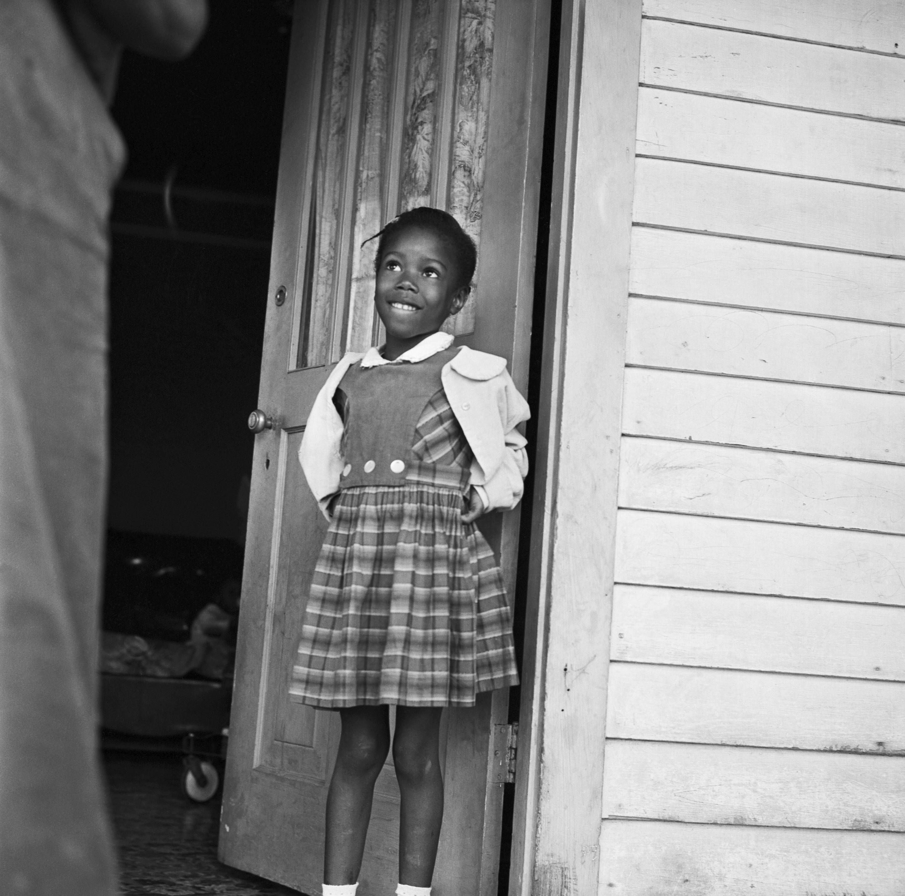 Ruby Bridges The First Black Child To Attend An All White