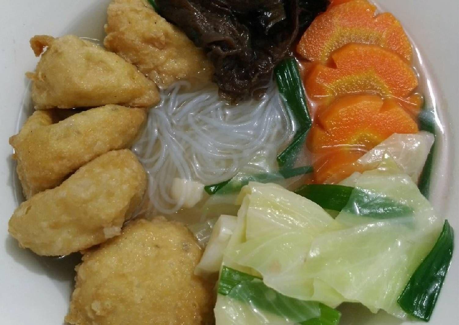 Resep Sup Tahu Pong Oleh Maplesong Resep Memasak Resep Sup Makanan
