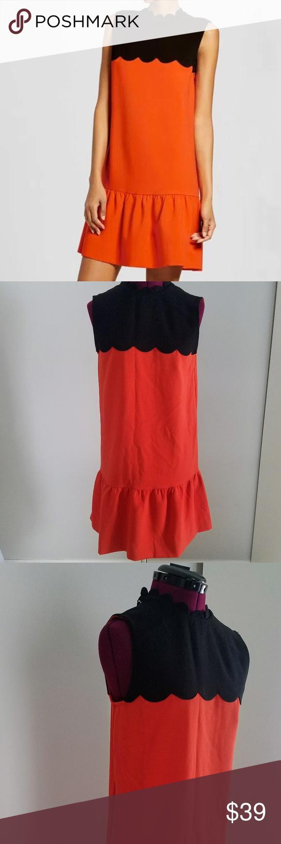 Victoria Beckham For Target Black And Orange Dress Black And Orange Dress Clothes Design Victoria Beckham Target [ 1740 x 580 Pixel ]