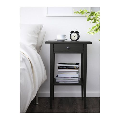 HEMNES Nightstand   Black Brown   IKEA Awesome Ideas