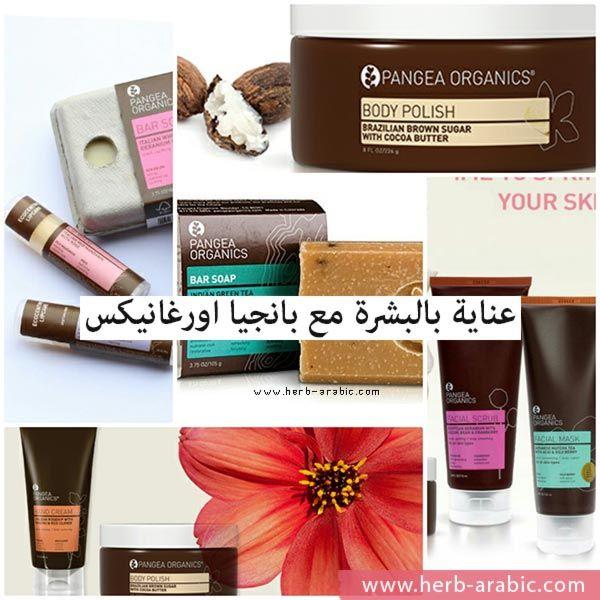 منتجات عضوية وطبيعية للعناية بالبشرة من بانجيا اورغانيكس في موقع اي هيرب الامريكي Organic Body Polish Organic Body Skin Care