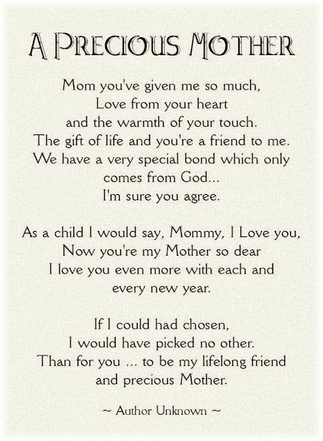 40 Mother S Day Quotes Quoteburd Mom Quotes From Daughter Mom Poems Thank You Mom Quotes