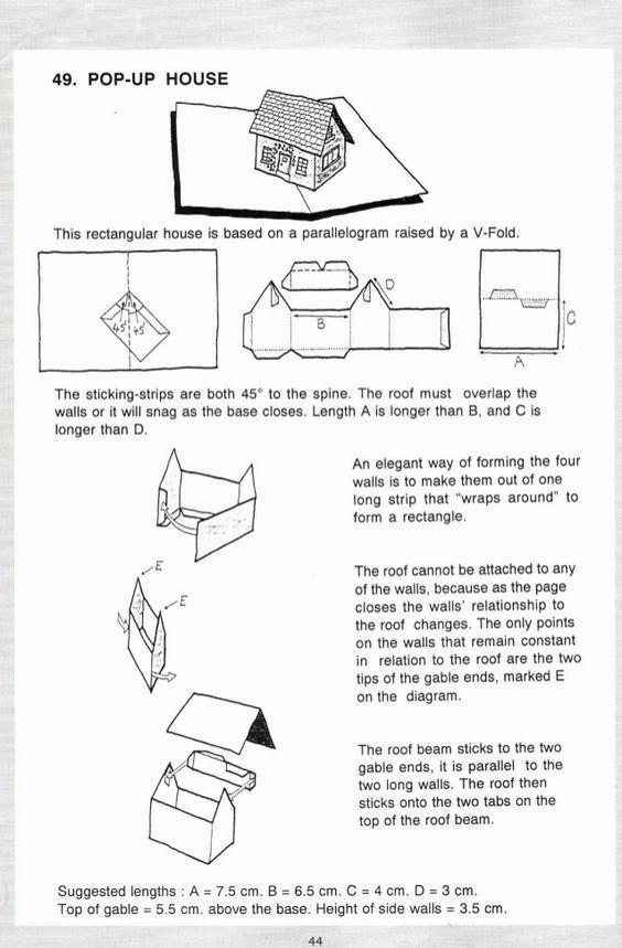 Pop Up A Manual Of Paper Mechanisms Duncan Birmingham Tarquin Boo Pop Up Card Templates Pop Up Art Paper Pop