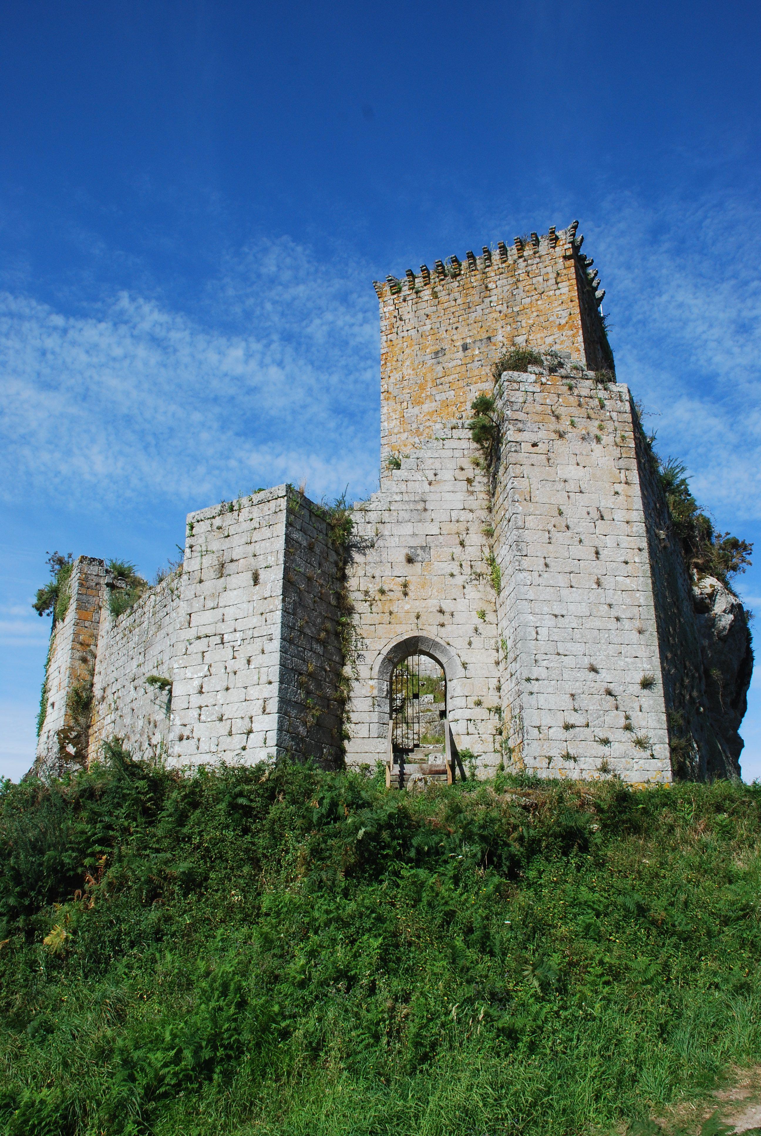Castello in galizia spagna