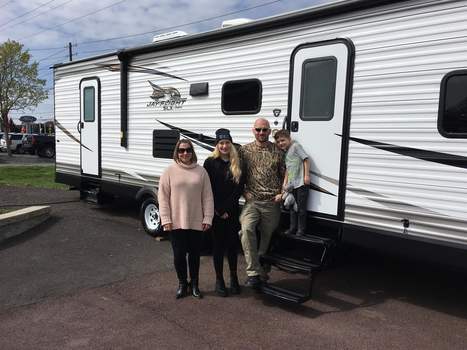 Addam And Lisa S New 2019 Jayco Jay Flight Congratulations And Best Wishes From Fretz Rv And Rick Congratulations And Best Wishes Recreational Vehicles Jayco