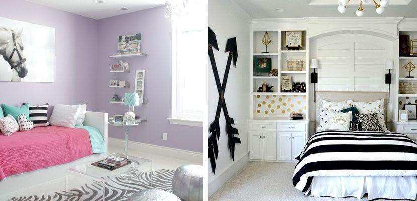Habitacin juvenil para chicas ideas cool Pinterest Habitacin