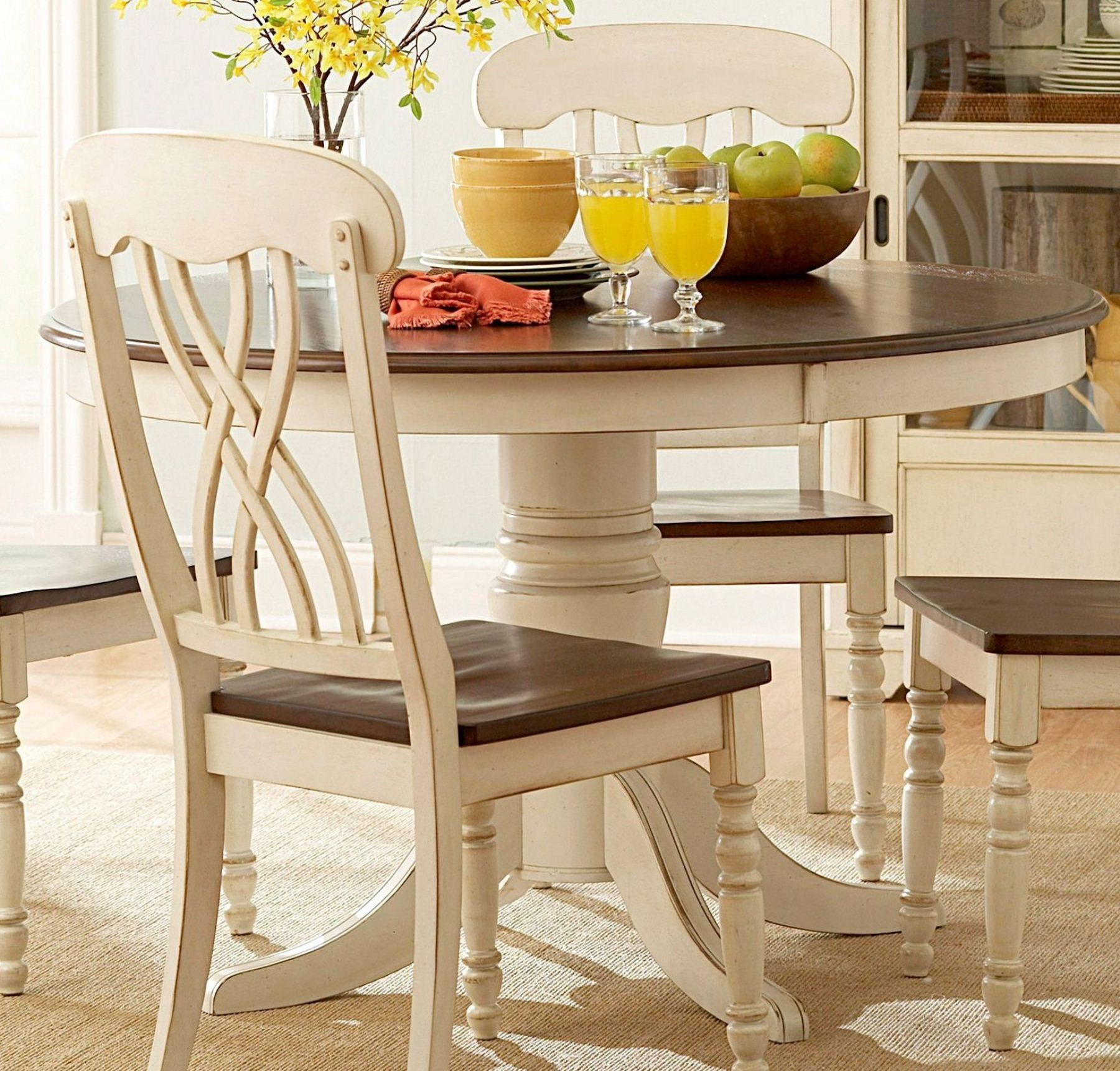 Ohana round dining table kitchen living room remodel pinterest