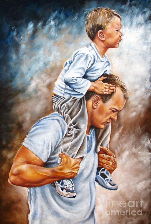 75 Father and son paintings ideas | father and son, father, sons
