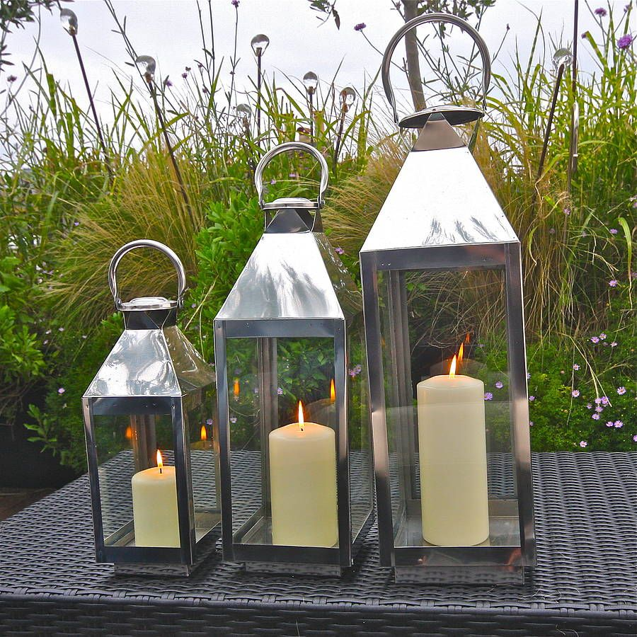 Top 25 ideas about Stainlesssteellantern on Pinterest Garden