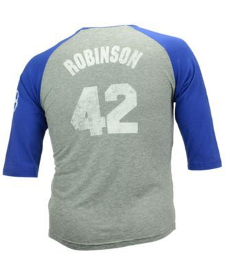 new product 9f996 77c31 Majestic Men's Jackie Robinson Brooklyn Dodgers Cooperstown ...