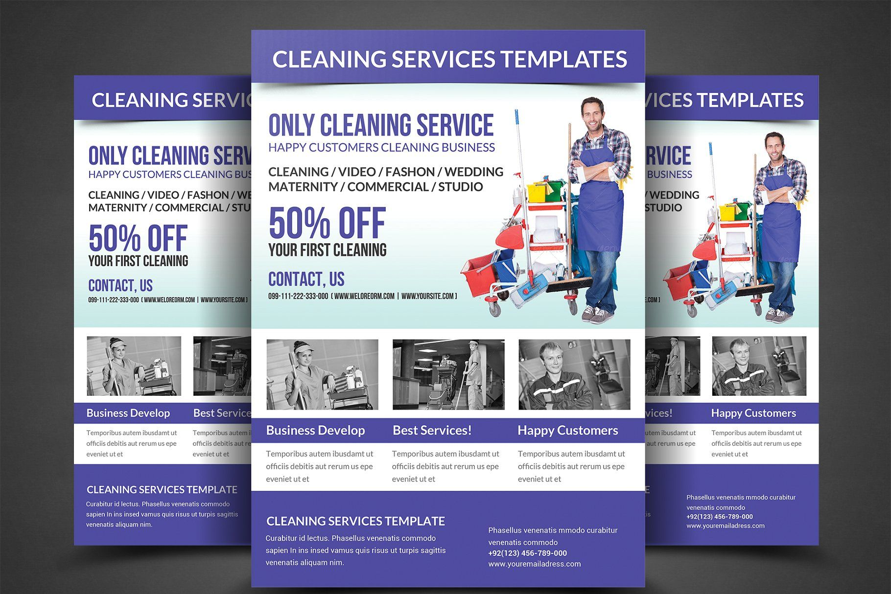Cleaning Services Flyer Template Services Cleaning Flyer Templates Cleaning Service Flyer Business Flyer Templates Flyer Template House cleaning flyers template free