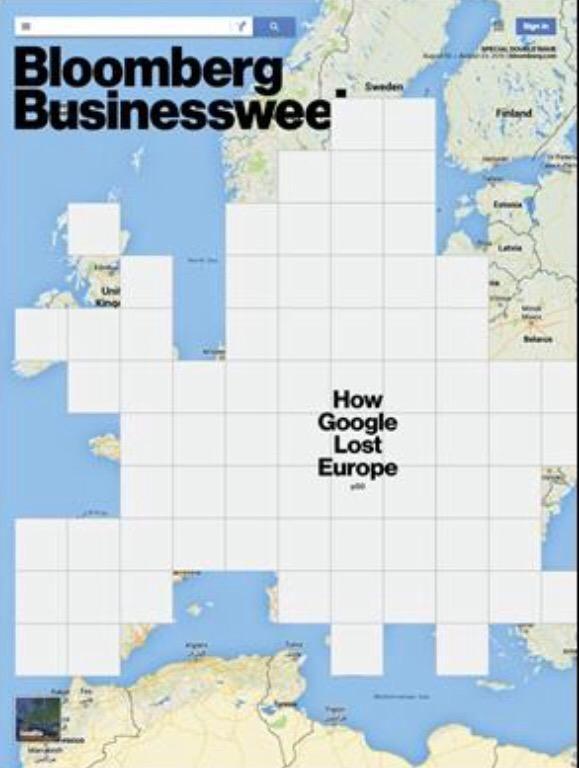 Newest cover #bloombergbusinessweek: #Google pay fines Europe? DesignDirector: @RobertVargas https://instagram.com/p/6CpxueCFpZ/