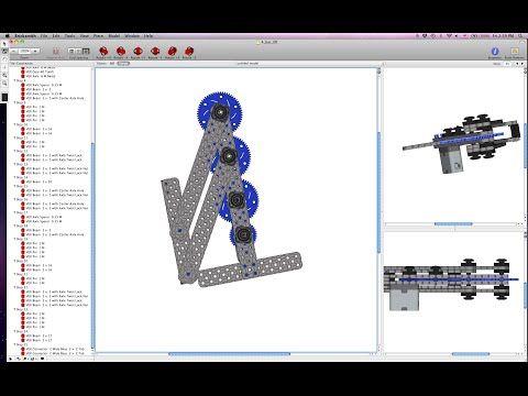 Build Instructions: VEX IQ 4 bar lift system using one motor