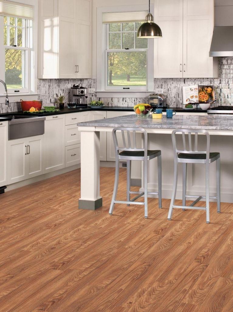 Vinyl Flooring Durable And Easy To Maintain Kitchen Ideas With Regard To Vinyl Kitchen Flooring Home Interior Design