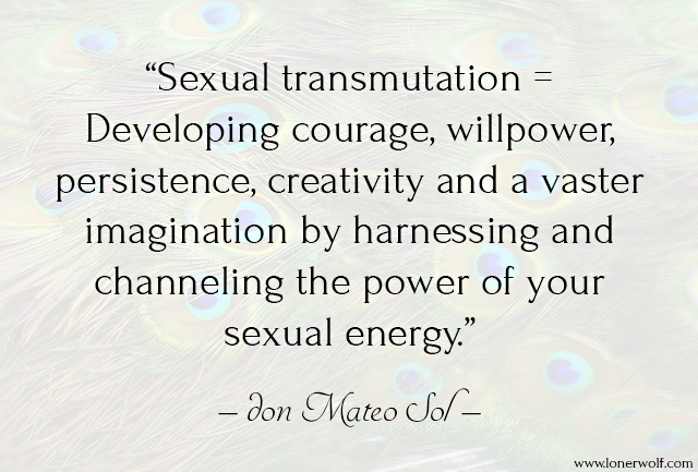 harnessing your sexual energy
