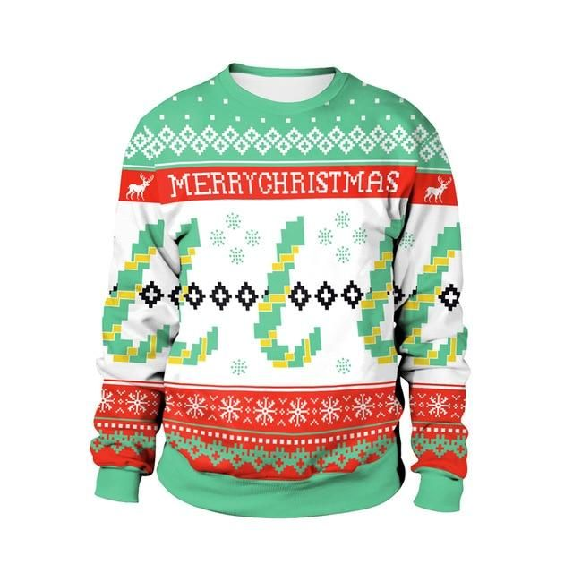 Affordable Cheap Ugly Christmas Sweater High Street Whistles