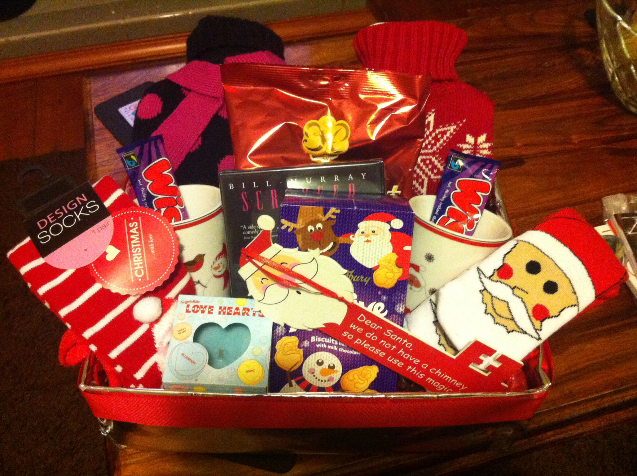 Xmas Eve Box For A Special Couple Christmas Eve Box Christmas Gifts For Friends Christmas Couple