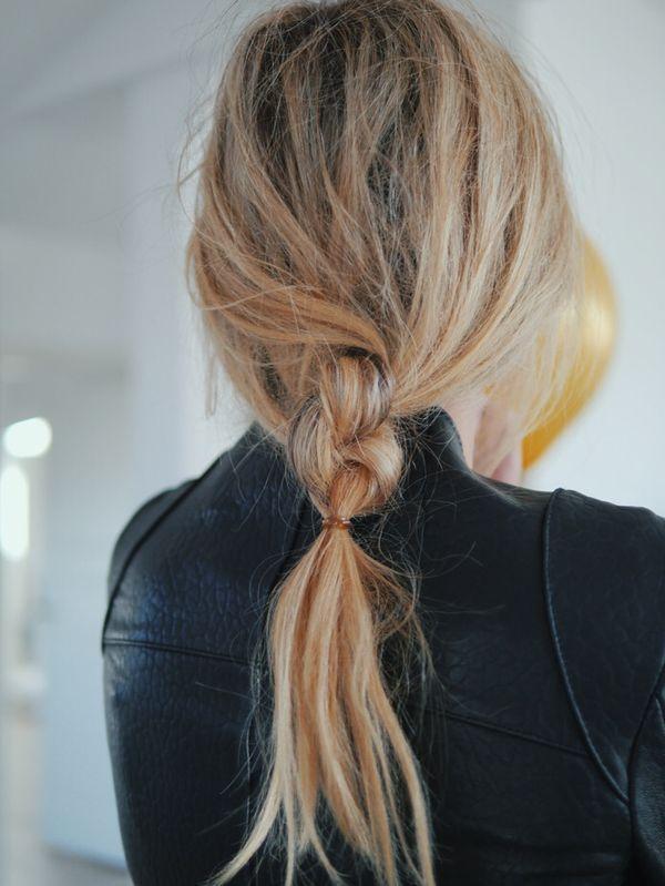 ヘアピン不要 ゴムひとつでできる こなれアレンジ はコレ ヘアスタイリング 細い髪 髪型