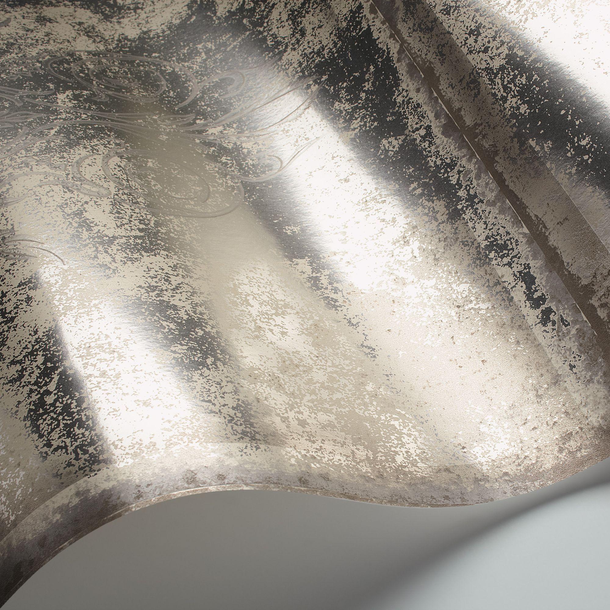 Cole & Son Albery Wallpaper, Silver 94/4019 | Antique ...