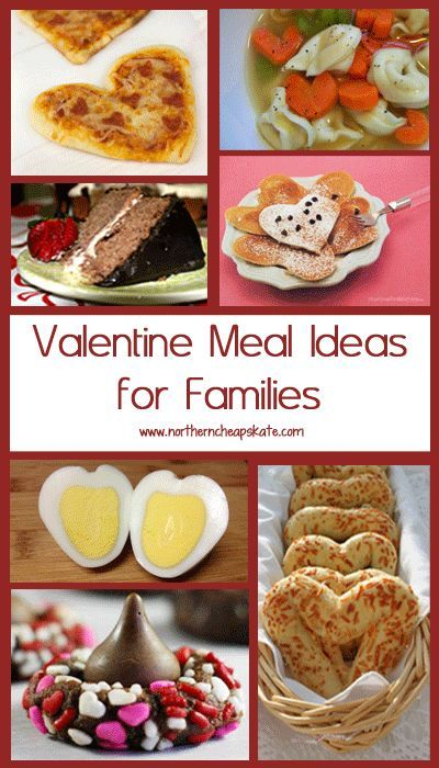 valentine meal ideas for families httpwwwnortherncheapskatecom - Valentines Day Meal Ideas