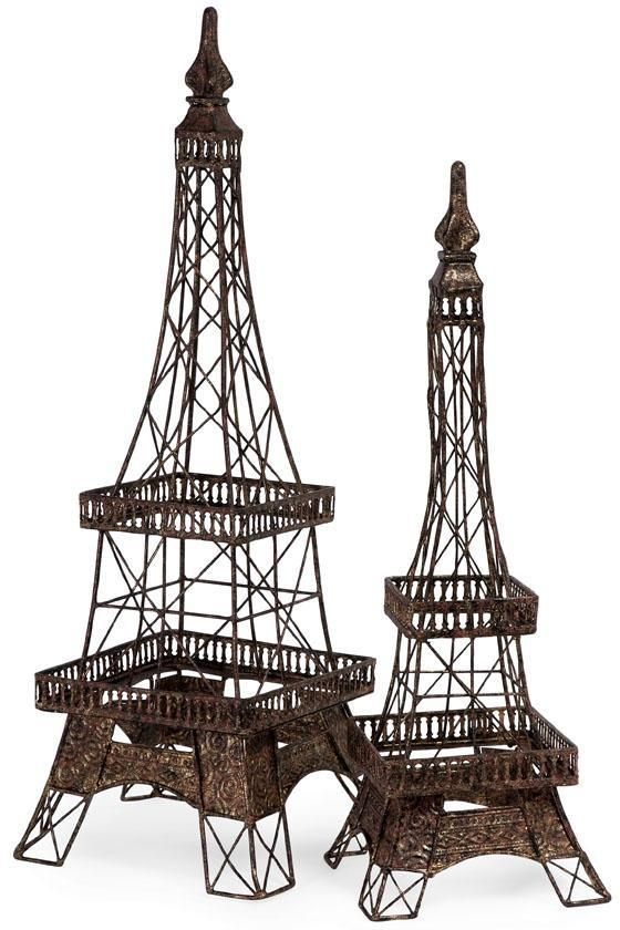 Home decor eiffel tower statue
