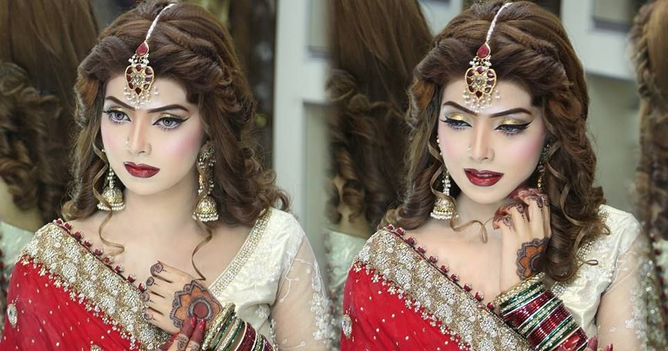 Makeup And Hair Styling Done By Kashif Aslam By Kashee 's