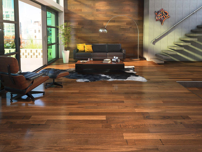 Modern Lounge Sitting Room Hardwood Floor Salon Moderne Avec Plancher De Bois Franc