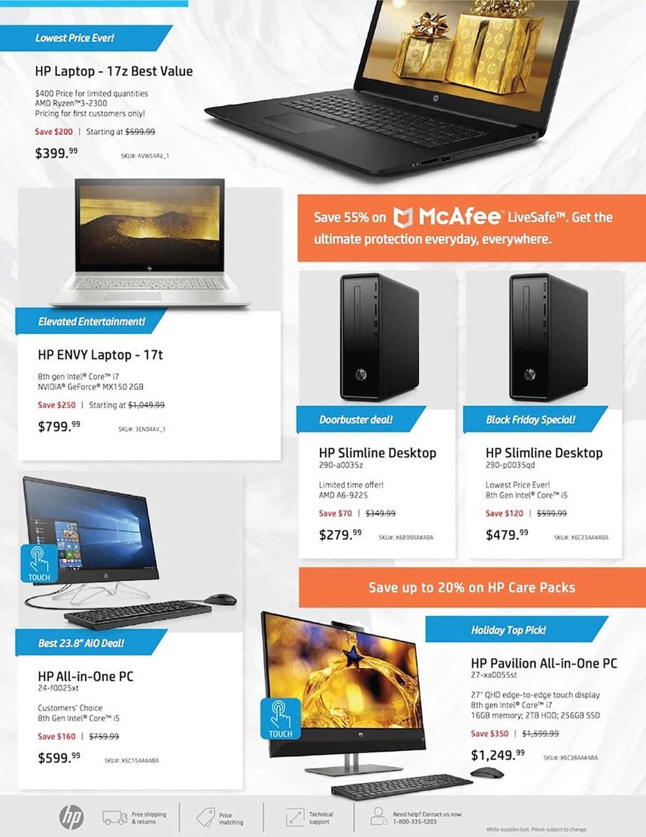 Hp Home Home Office Black Friday 2018 Ads And Deals With Images