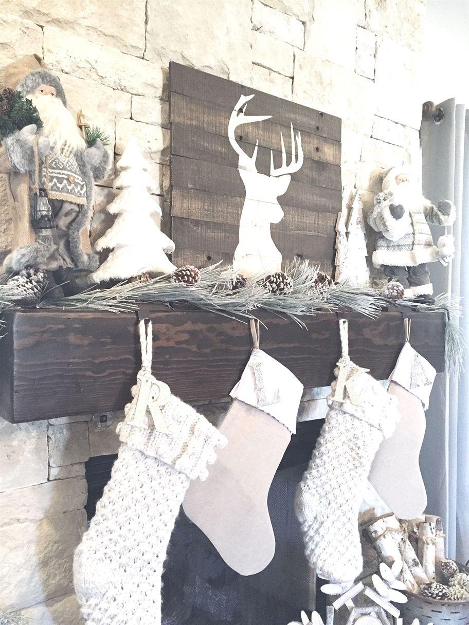Rustic farmhouse christmas stockings christmasdecor