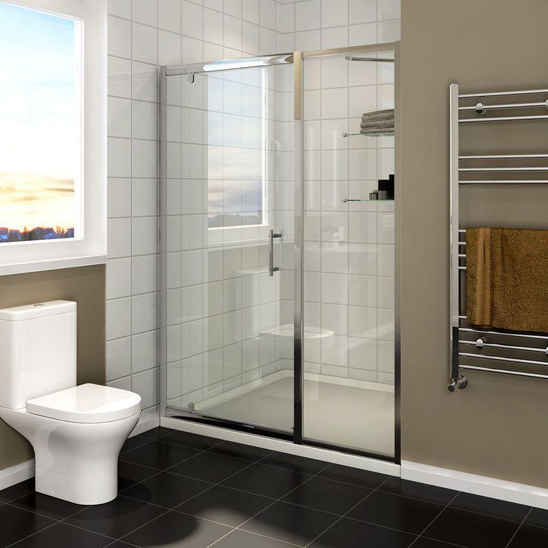 Cabine de douche 110 x 185 cm pivotante porte de douche Porte de douche 110 cm