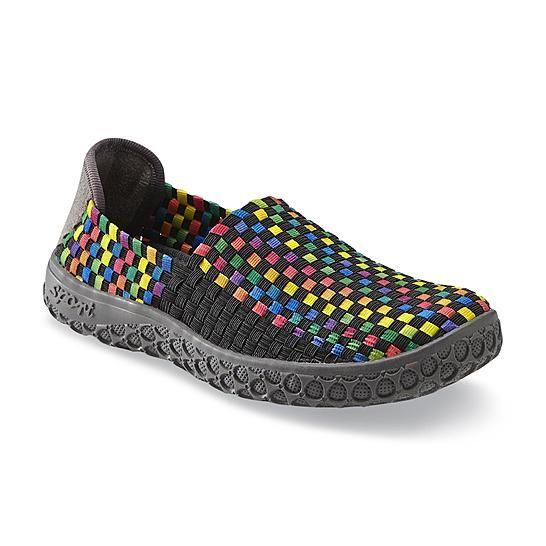 Bolaro Women's A Line Black/Multicolor Casual Shoe