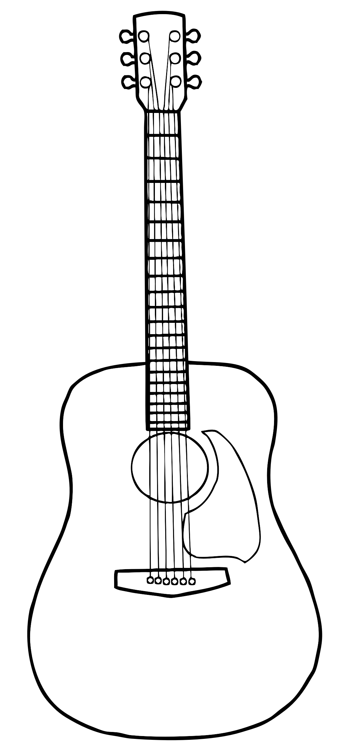 It is a photo of Breathtaking Printable Guitar Templates