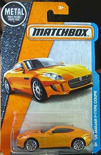 Matchbox   2016 MBX Adventure City   U002715 Jaguar F Type Coupe 15/