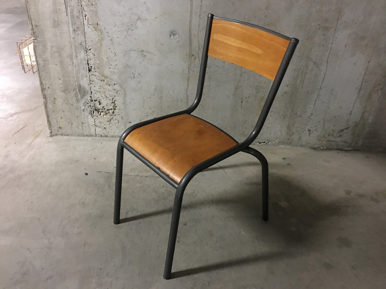 Chaise D École Mullca chaise d'école mullca de la boutique arnaudveylon sur etsy
