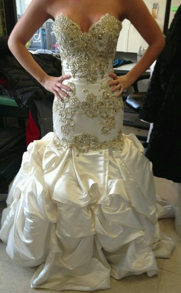Baracci Wedding Dress Famous Designer Swarovski Crystals Corset Back Mermaid Wedding Dress Accessories Princess Wedding Gown Ivory Wedding Dress