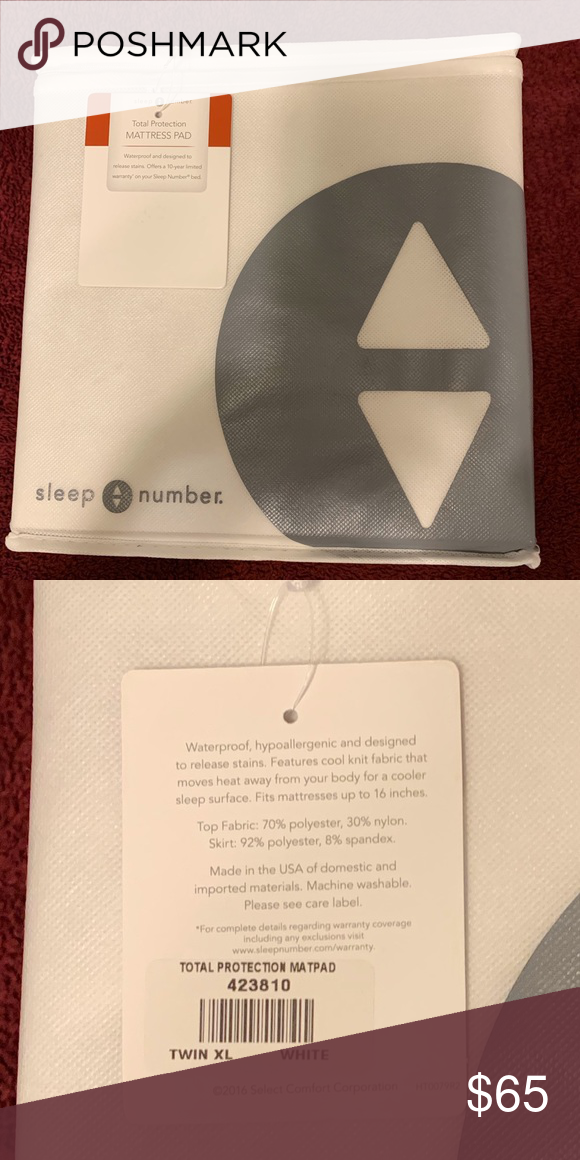 **SOLD** Sleep Number TWIN XL Mattress Pad NWT Twin xl
