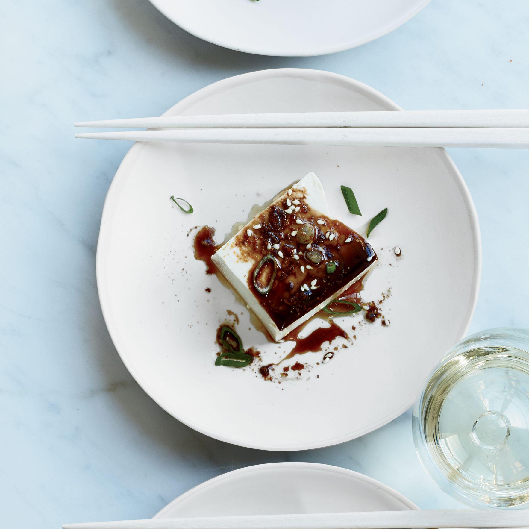 Warm Tofu with SoyGinger Sauce Recipe Wine recipes