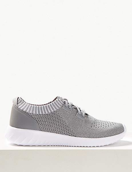 Lace up trainers, Wide fit shoes