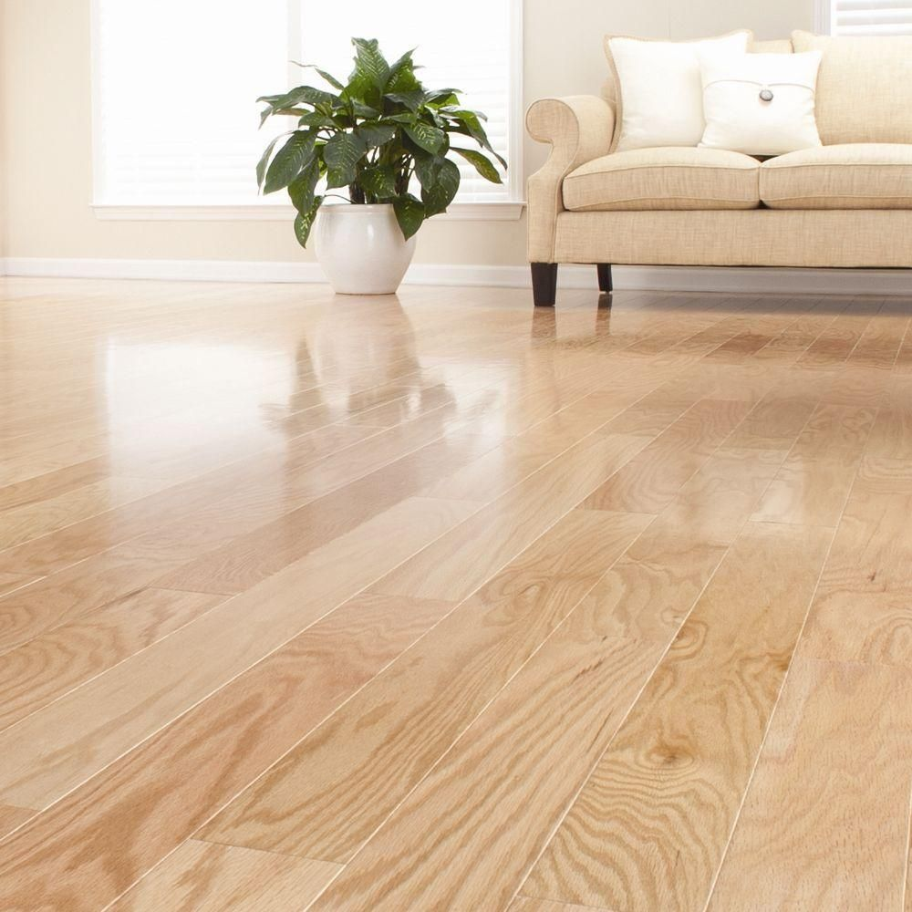 Millstead Red Oak Natural 1 2 In Thick X 5 In Wide X