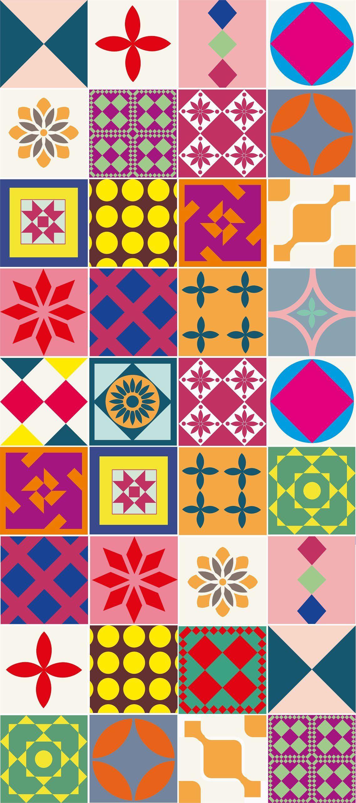 Azulejos Modernos Onedrive Tile Art Stencil Patterns Mosaic Patterns