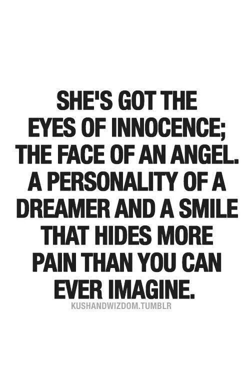 Eyes Of Innocence Dreamer Quote Pain Quote From Kushandwizdom